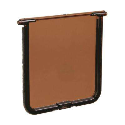 5-3/4 in. L x 6 in. W Replacement Cat Flap Door