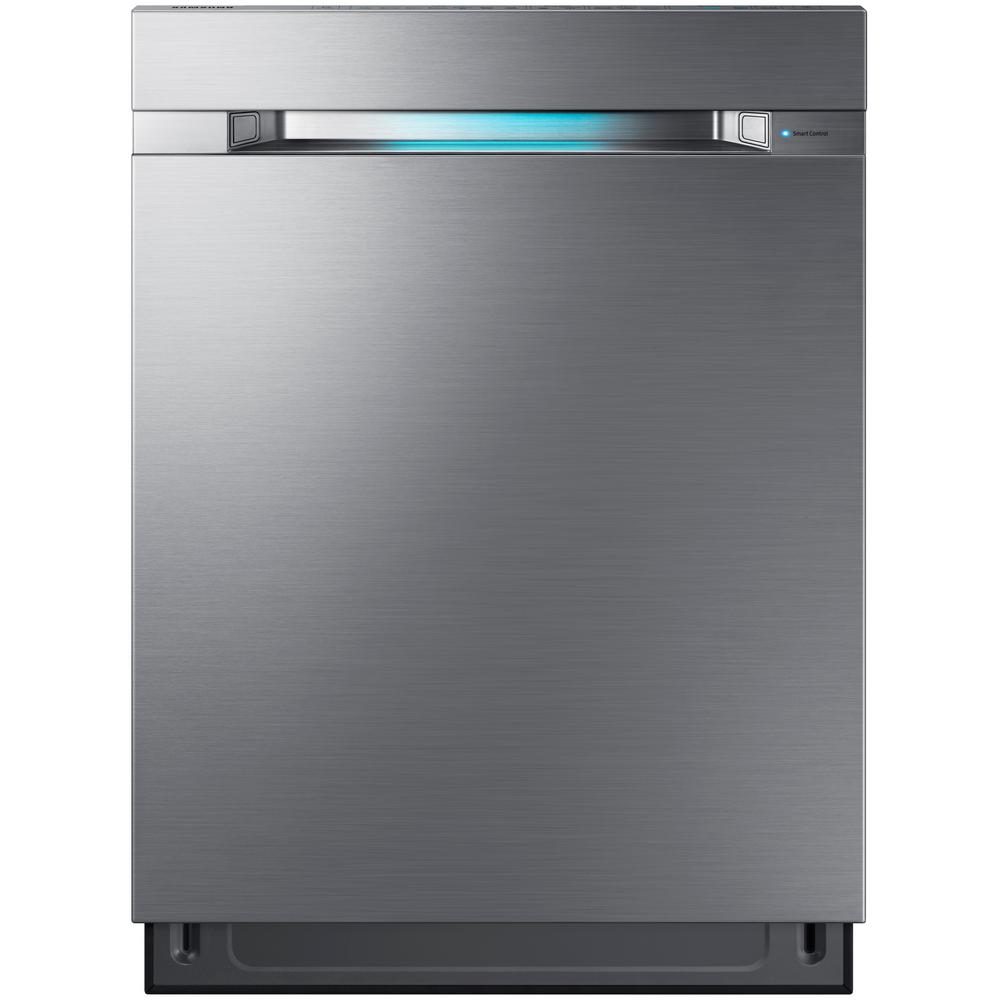 6. Best for Large Families: Samsung 24 in. Top Control Tall Tub Linear Wash Dishwasher (DW80M9960US)