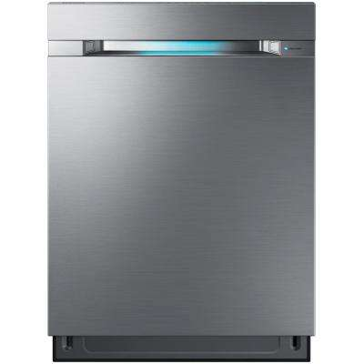 24 in. Top Control Dishwasher in Stainless Steel with Stainless Steel Tub and WaterWall Wash System WIFI