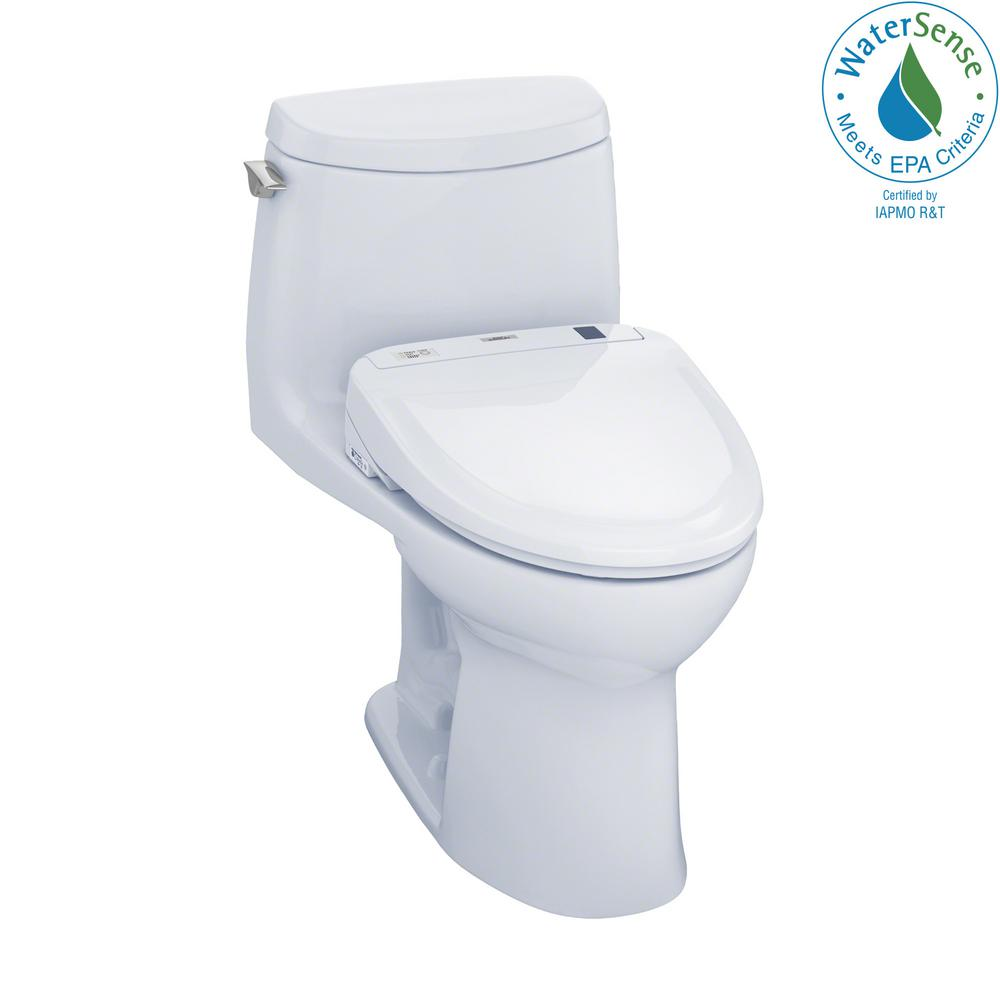 Toto Ultramax Ii Connect 1 Piece 1 0 Gpf Elongated Toilet
