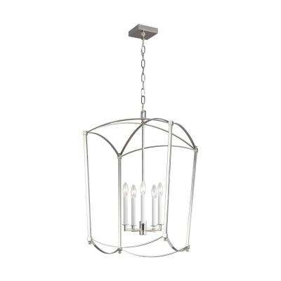 Thayer 5-Light Polished Nickel Chandelier