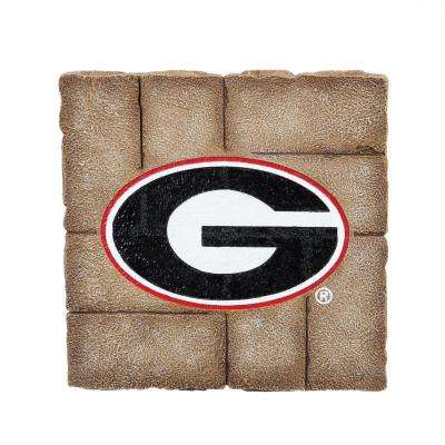 University of Georgia 12 in. x 12 in. Decorative Garden Stepping Stone