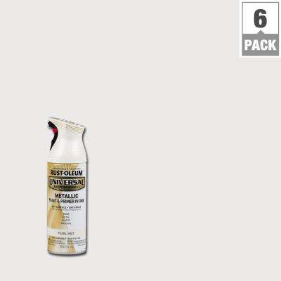 11 oz. All Surface Metallic Pearl Mist Spray Paint and primer in 1 (6-Pack)