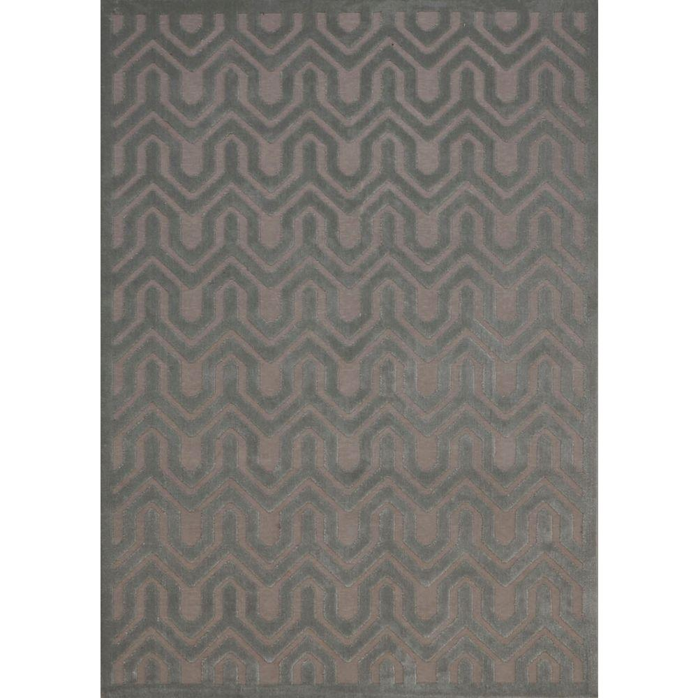 Overstock Area Rugs: Nourison Overstock Ultima Silver/Green 7 Ft. 9 In. X 10 Ft