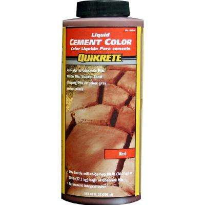 10 oz. Liquid Cement Red