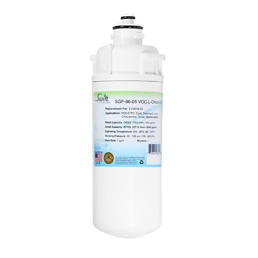 SGF-96-05 VOC-L-Chlora-S-B Replacement Water Filter for Everpure EV9618-02