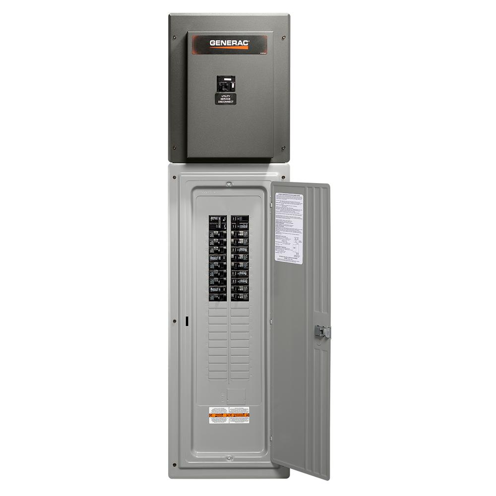 Generac 200 Amp 42-Circuit Load Center Service Rated ...