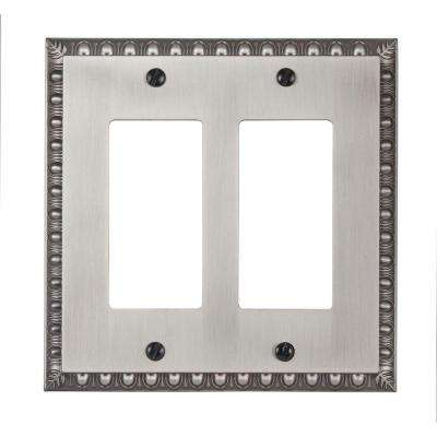 Renaissance 2 Decora Wall Plate - Antique Nickel