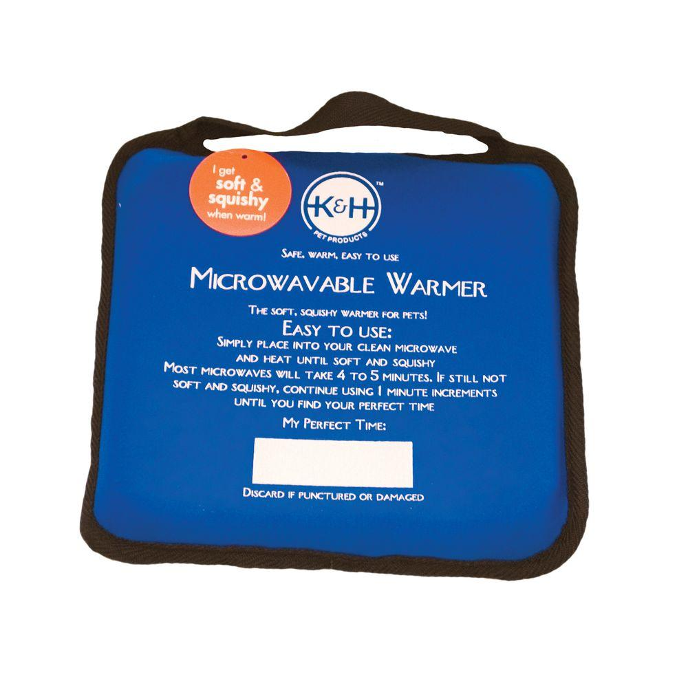 K&H Manufacturing Microwavable Medium Blue Pet Bed Warmer