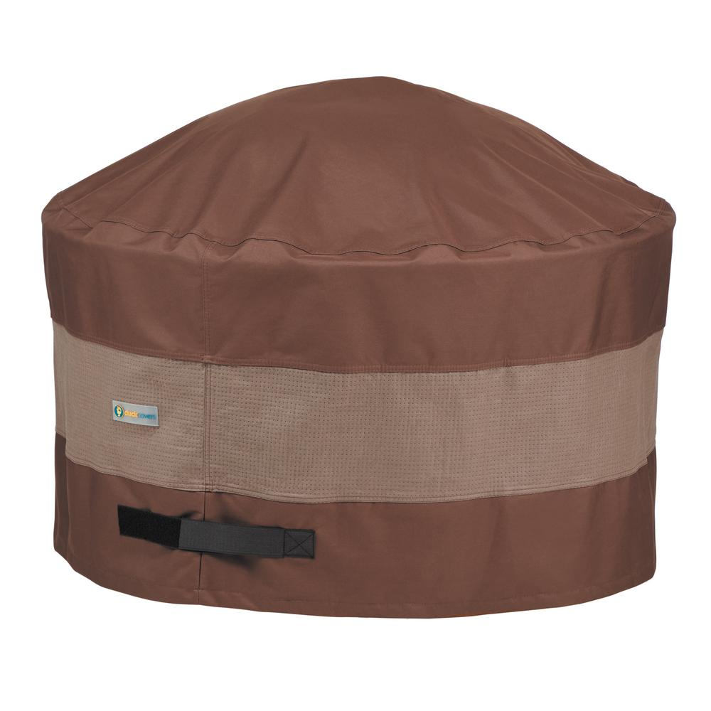 Duck Covers Ultimate 44 in. Dia x 24 in. H Round Fire Pit ...