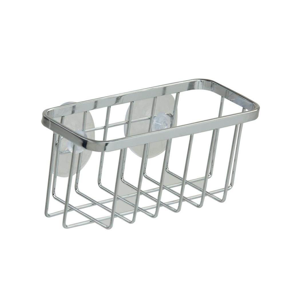 home basics chrome sponge holder - Kitchen Sponge Holder