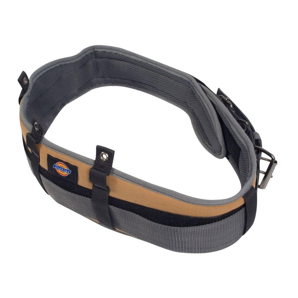 Dickies 5 in. Padded Work/Tool Belt with Double Roller Bu...