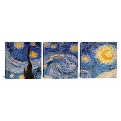 """The Starry Night"" by Vincent van Gogh Canvas Wall Art"
