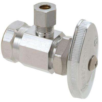 1/2 in. FIP Inlet x 1/4 in. O.D. Compression Outlet Multi-Turn Angle Valve