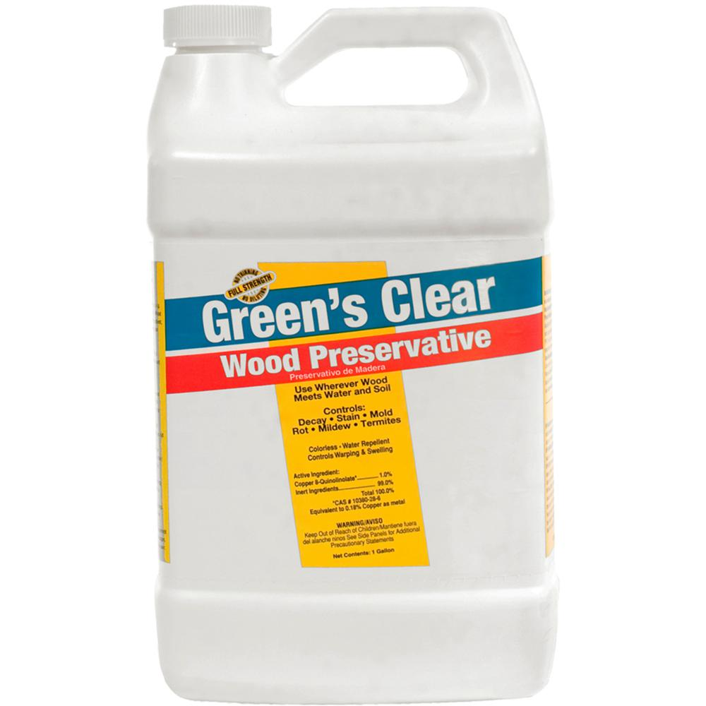 Copper Green 1 Gal Wood Preservative 221834 The Home Depot