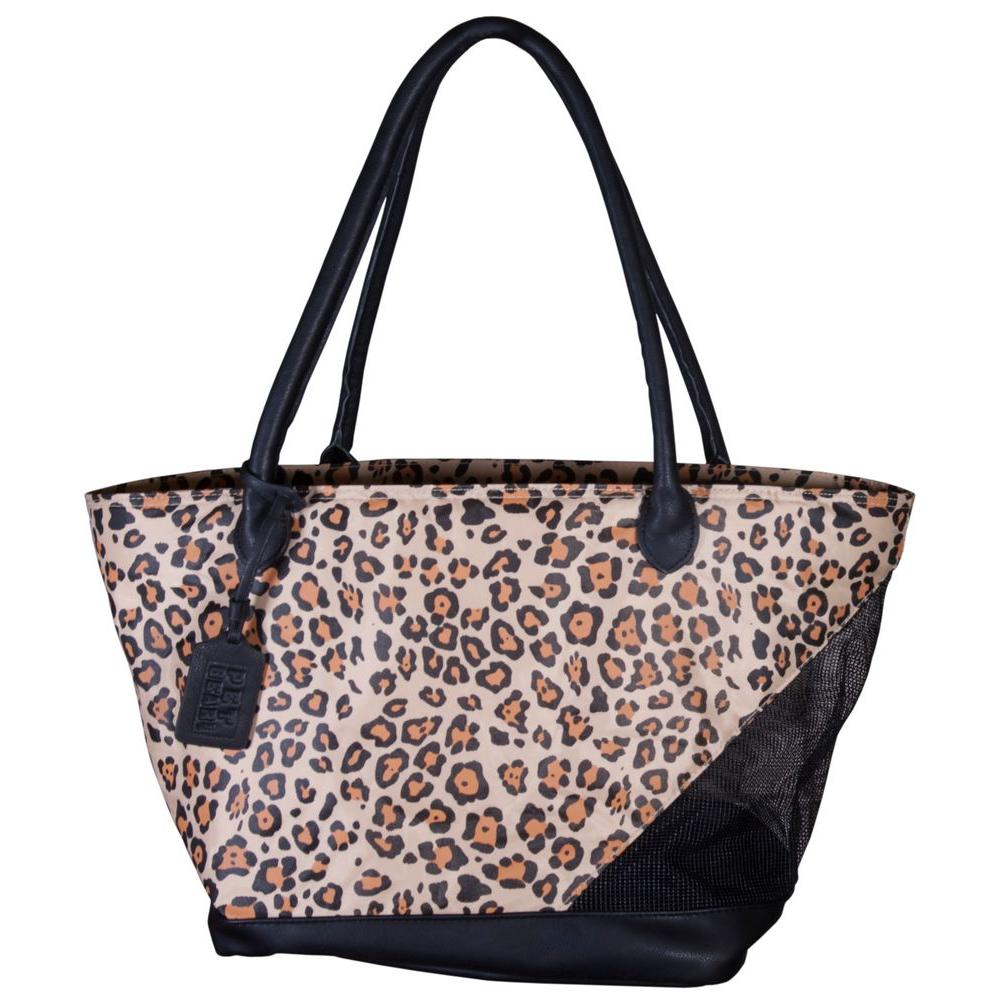 Pet Gear 11.25 in. x 8.5 in. x 10 in. Jaguar Tote Bag
