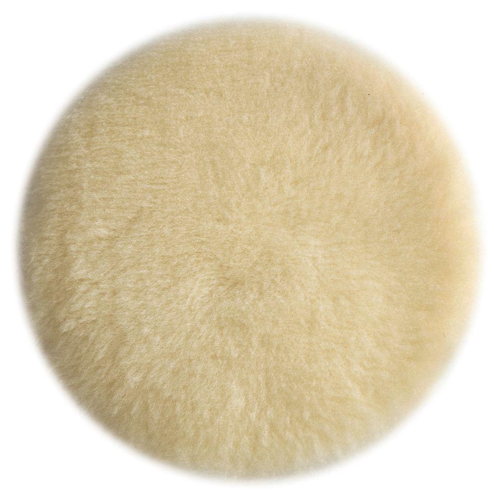 Tan Lambs Wool Polishing Pad