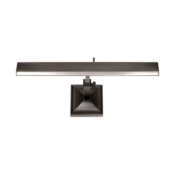 Hemmingway 14 in. Rubbed Bronze LED Adjustable Picture Light, 2700K