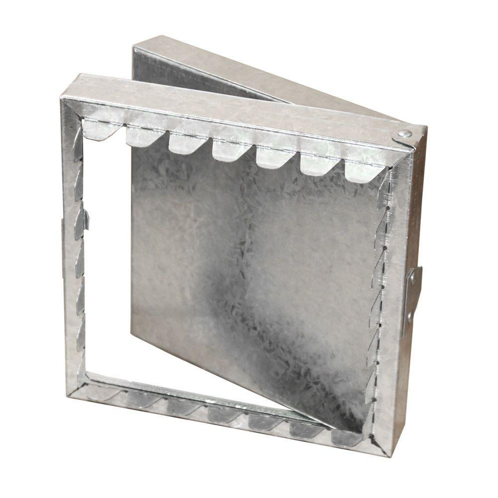 Master Flow 14 in. x 14 in. Galvanized Steel Duct Access Door