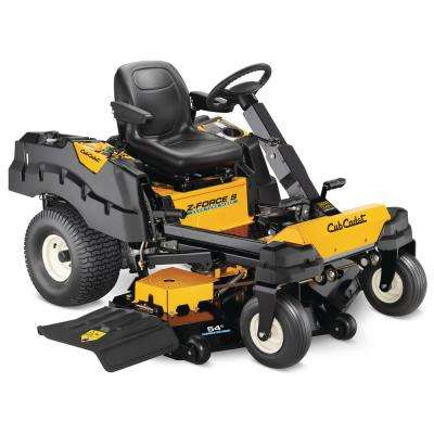 Z-Force S 54 in. 25 HP Fabricated Deck KOHLER Pro V-Twin Dual-Hydro Zero-Turn Mower with Steering Wheel Control