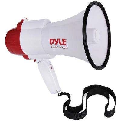 30-Watt Megaphone Bullhorn with Siren & Voice Changer Modes