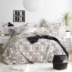 Visionary 2-Piece 200-Thread Count Organic Cotton Percale Twin Duvet Cover Set