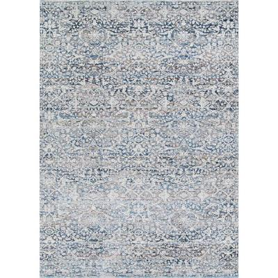 Floral 5 X 8 Couristan Area Rugs Rugs The Home Depot