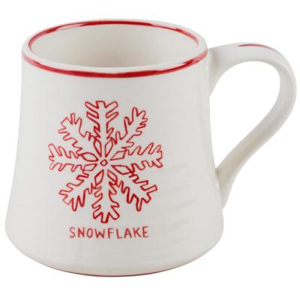 16 oz. Snowflake Mug