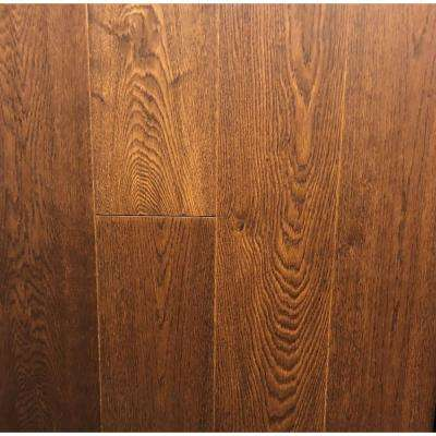 Classic Hardwoods White Oak Siena 9/16 in. T x 7.5 in. W x 86.25 in. L Engineered Hardwood Flooring (27 sq. ft. / case)