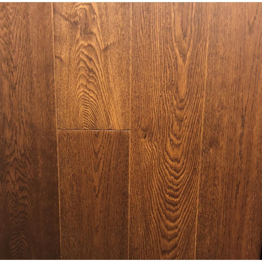 Take Home Sample-Classic Hardwoods White Oak Siena Engineered Hardwood Flooring - 7.5 in. x 8.5 in.