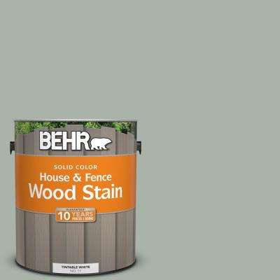 1 gal. #BXC-38 Alpine Air Solid Color House and Fence Exterior Wood Stain