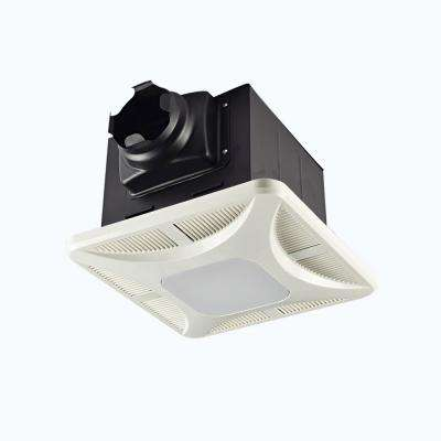 Slim Profile LED Panel 110 CFM Ceiling Bathroom Exhaust Fan