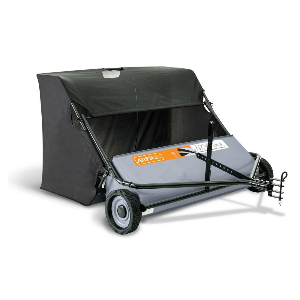 AllFitHD 42 in. 22 cu. ft. Lawn Sweeper