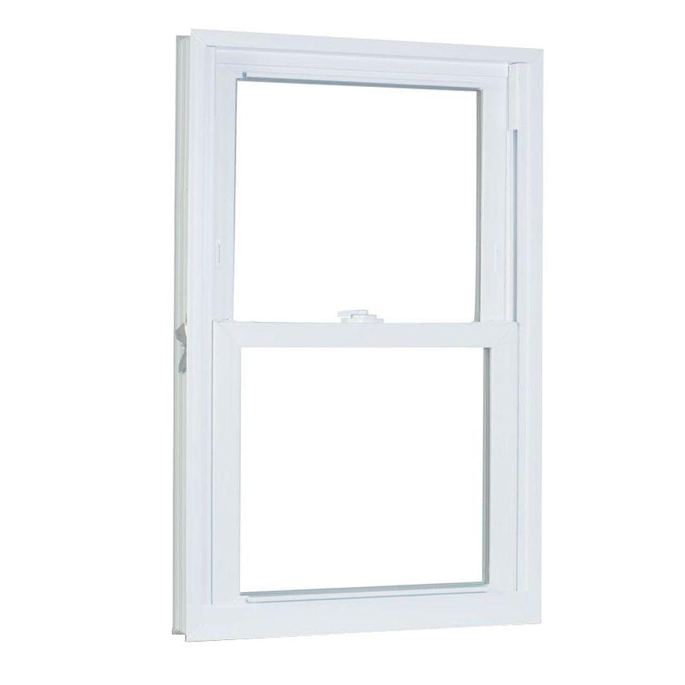 American Craftsman 35 75 In X 45 25 8500 Series Double Hung Buck Vinyl Window