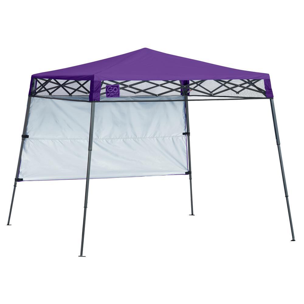 7 ft. x 7 ft. Purple Slant Leg Canopy