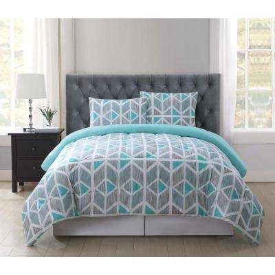 Malene Multi-Color Twin XL Comforter Set