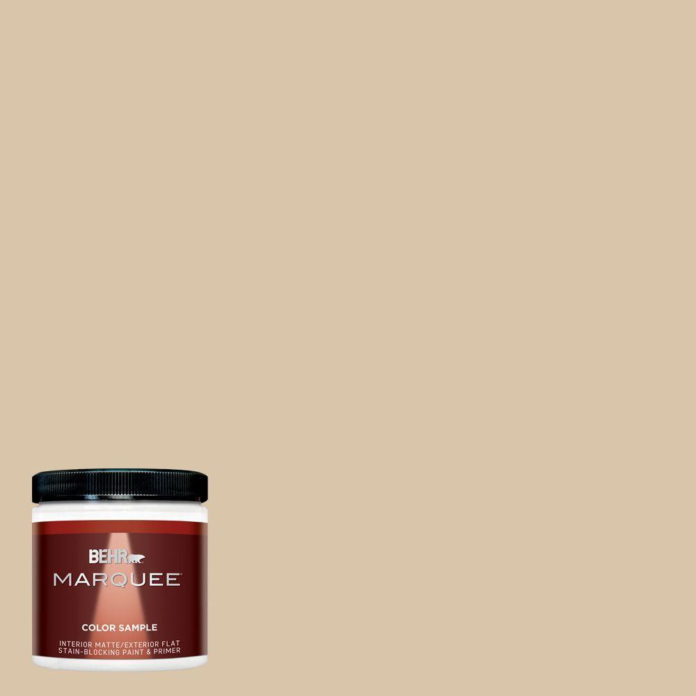 almond color paintBEHR MARQUEE 8 oz MQ223 Almond Butter Matte InteriorExterior