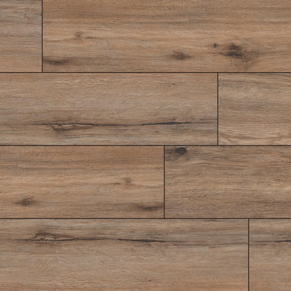 Woodland Forrest Brown 9 in. x 60 in. Rigid Core Luxury Vinyl Plank Flooring (22.44 sq. ft. / case)