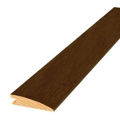Oak Saddle 2 in. Wide x 84 in. Length Reducer Molding
