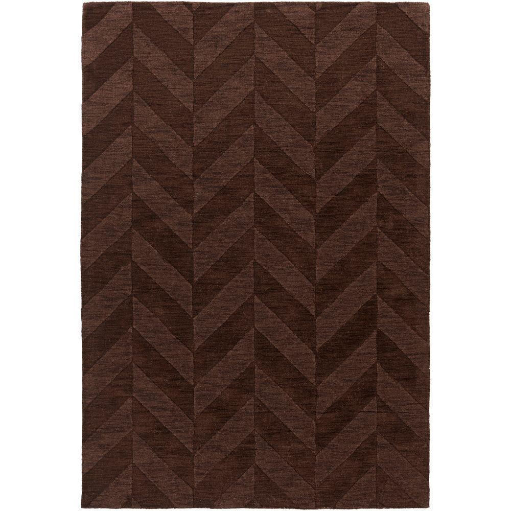 Central Park Carrie Chocolate 2 ft. x 3 ft. Indoor Accent