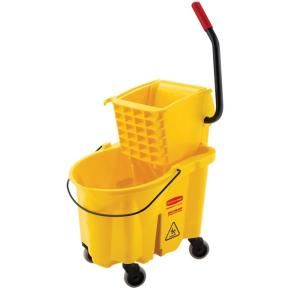 Rubbermaid Commercial Products 26 Qt. WaveBrake Mop Bucket and Side-Press... by Rubbermaid Commercial Products