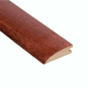 High Gloss Santos Mahogany 5/8 in. Thick x 2 in. Wide x 47 in. Length Hard Surface Reducer Molding