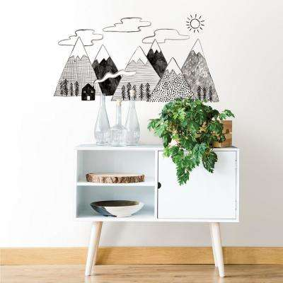 Gray Cozy Quarters Wall Decal