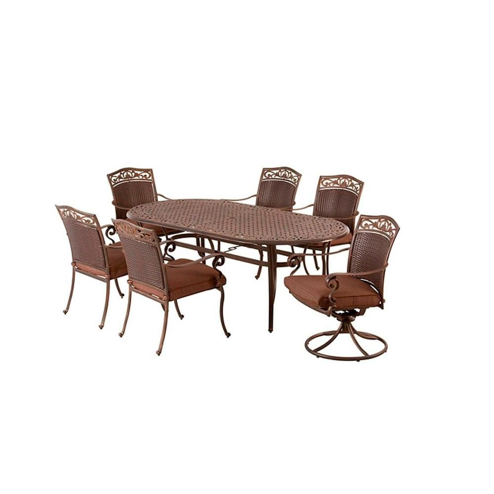 Martha Stewart Living Miramar Patio Dining Chairs (4-Pack) (Chairs Only)-DISCONTINUED