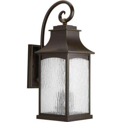 Maison Collection 3-Light Oil Rubbed Bronze Outdoor Wall Mount Lantern