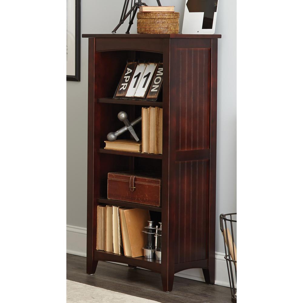 Shaker Cottage Espresso Open Bookcase