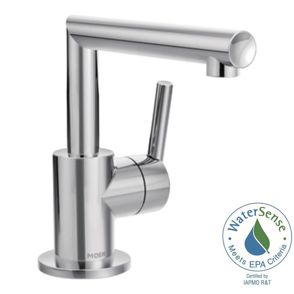 Arris Single Hole 1-Handle Bathroom Faucet in Chrome