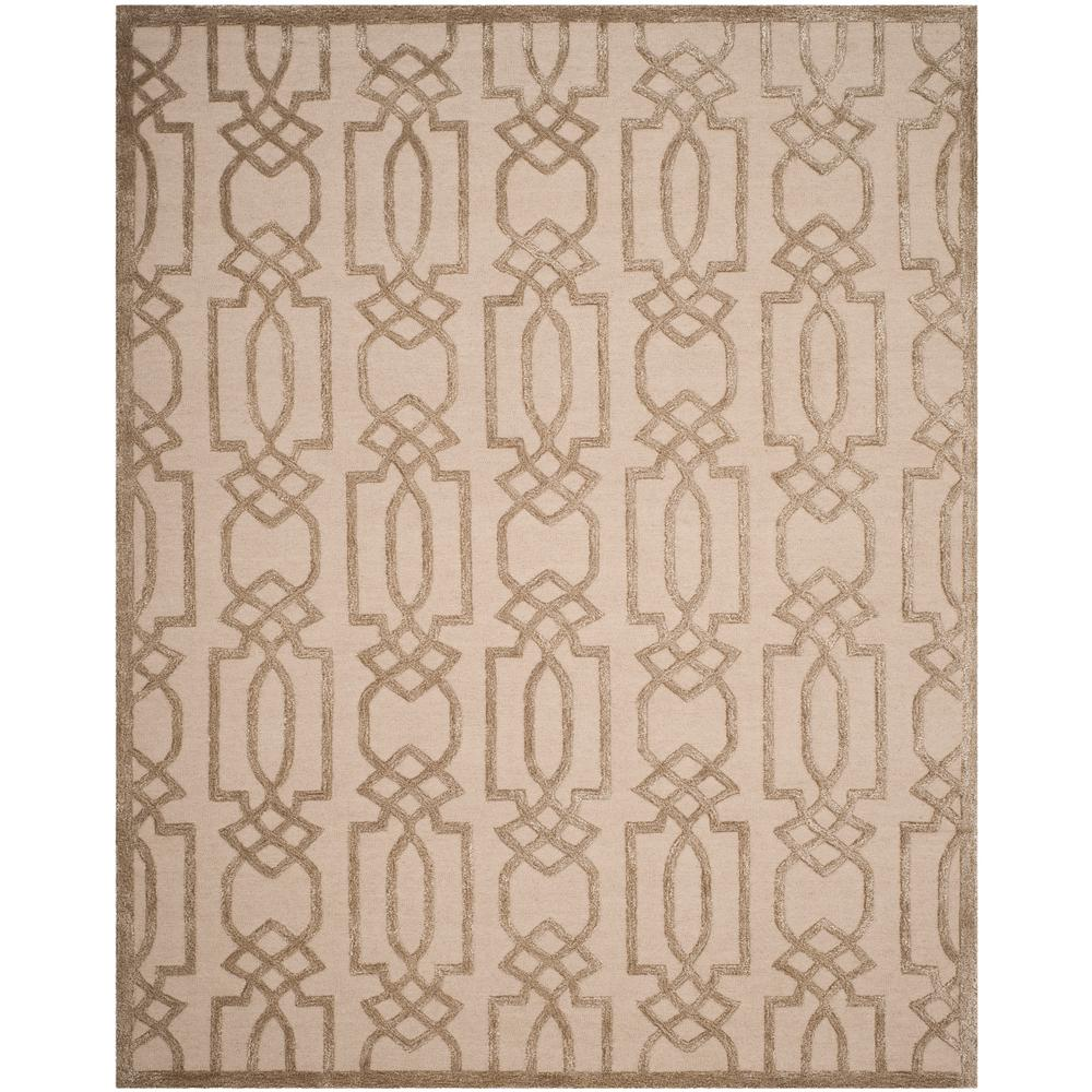 Bella Sand/Brown 6 ft. x 9 ft. Area Rug