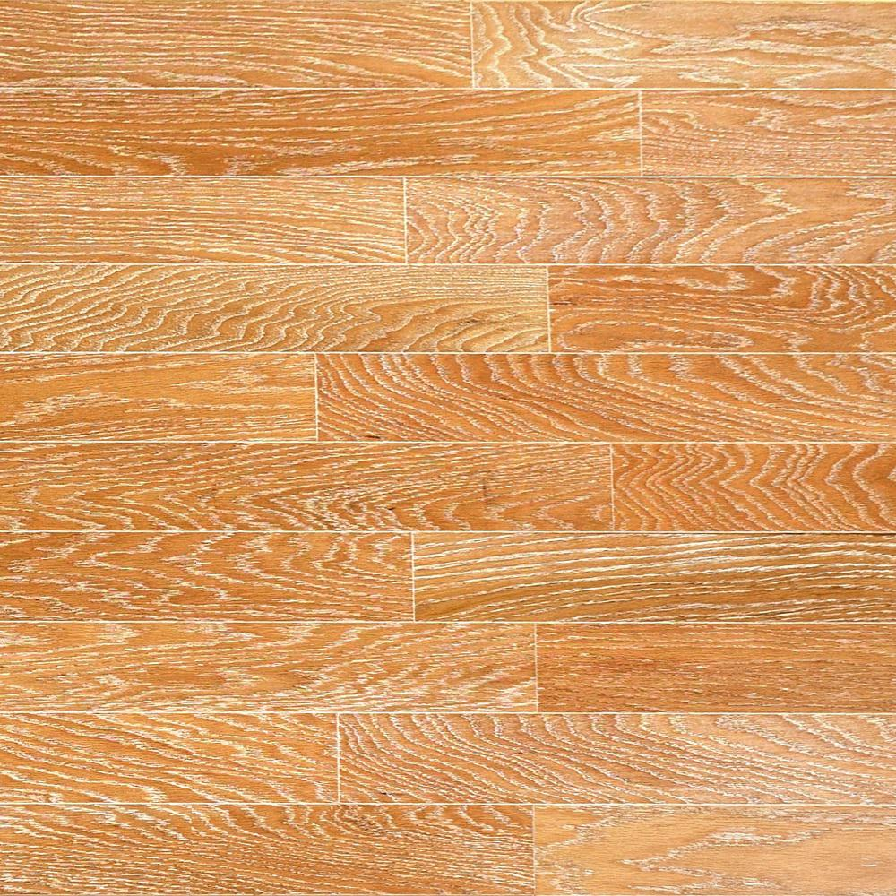 Take Home Sample - Brushed Oak Canvas Engineered Click Hardwood Flooring