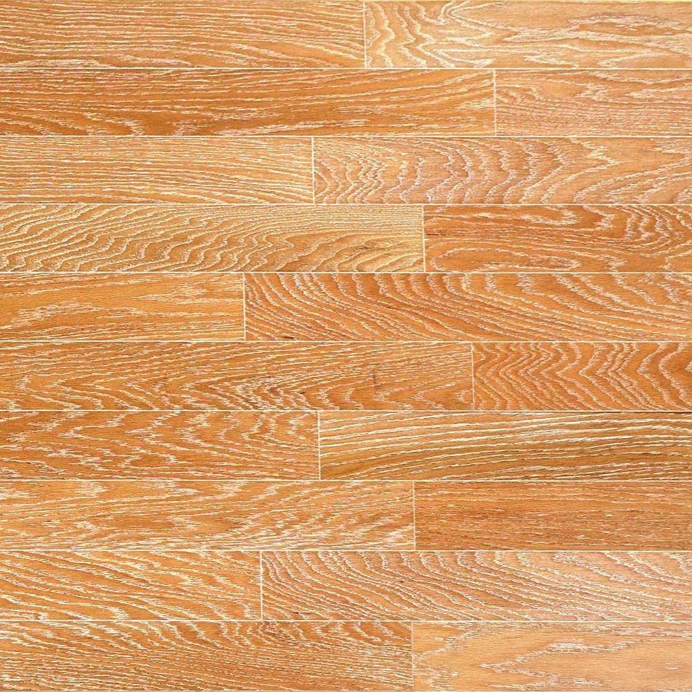 Take Home Sample - Brushed Oak Canvas Engineered Click Hardwood Flooring - 5 in. x 7 in.